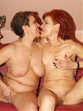 Lesbian matures Steph and Jullianna lick each others anals and pussies in this kinky porn story